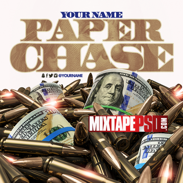 Mixtape Cover Template Paper Chase 13