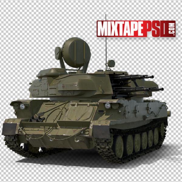 HD Anti Aircraft Tank