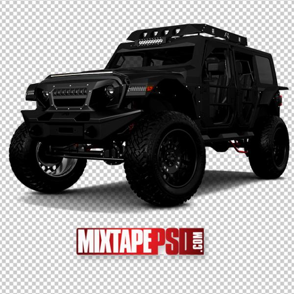 Black Off Road Jeep