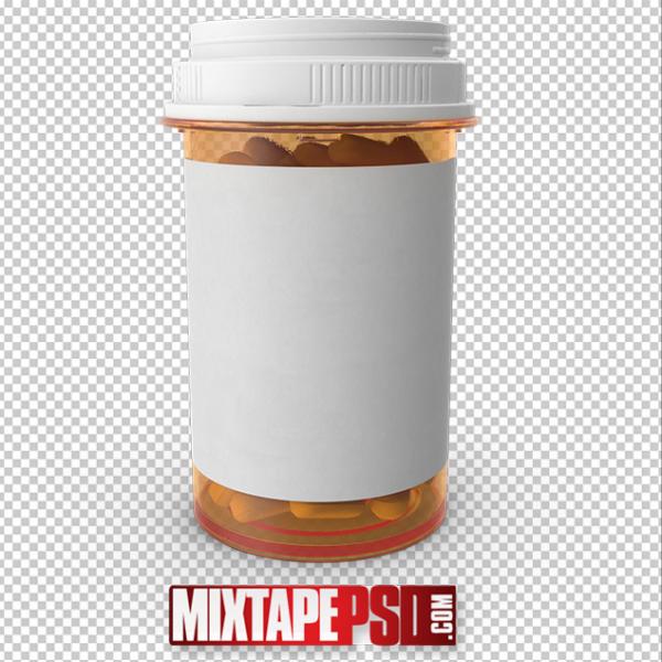 HD Large Prescription Bottle PNG