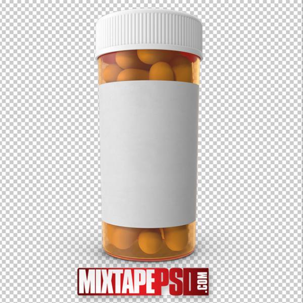 HD Prescription Bottle PNG