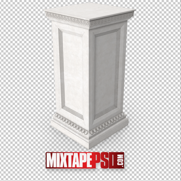 HD Roman Column Base PNG