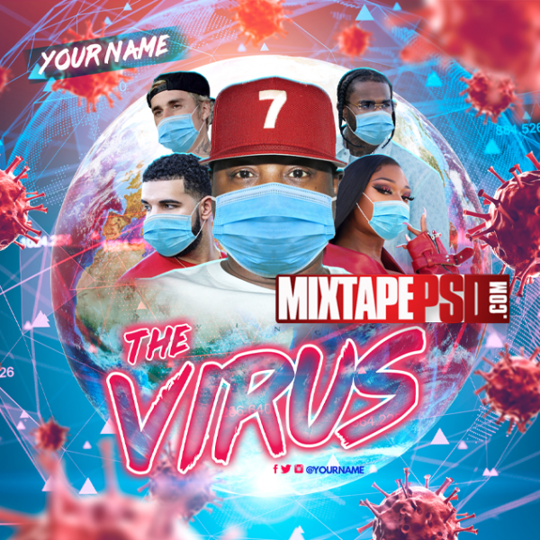 Mixtape Cover Template Virus 2