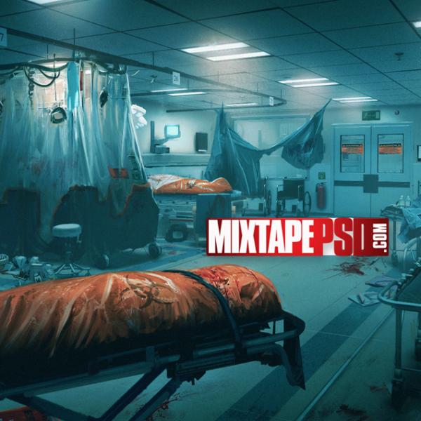 Virus Contaminated Hospital Floor
