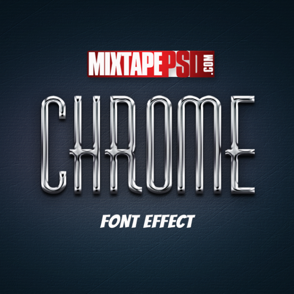 Chrome Text Effect 3
