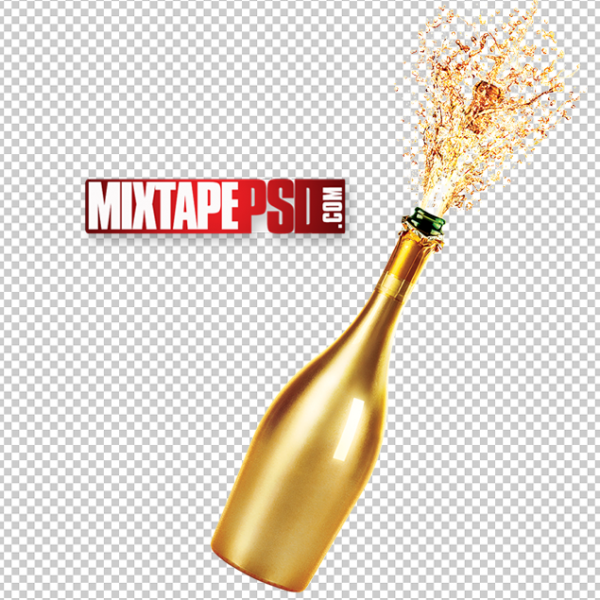 Gold Champagne Bottle Pop PNG, PNG Images, Free PNG Images, Png Images Free, PNG Images with Transparent Background, png transparent images, png images gallery, background png images, png background images, images png, free png images download, royalty free ping images