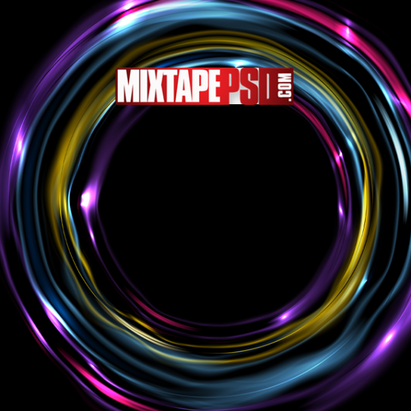 Hd Neon Color Circles Background Best Graphic Designs Mixtapepsds