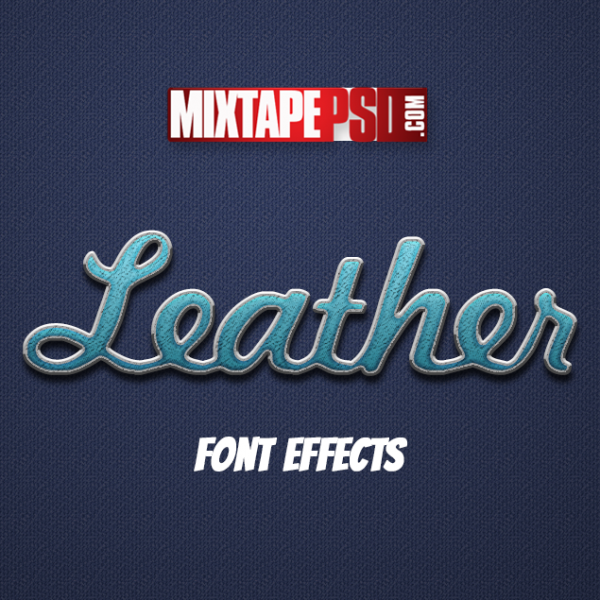 Leather Style Text Effect