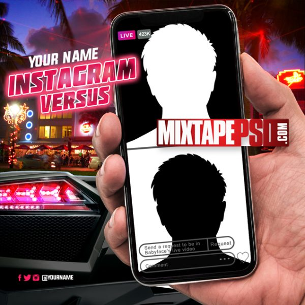 Mixtape Template Instagram Versus, Album Covers, Graphic Design, Graphic Designer, How to Make a Mixtape Cover, Mixtape, Mixtape cover Maker, Mixtape Cover Templates, Mixtape Covers, Mixtape Designer, Mixtape Designs, Mixtape PSD, Mixtape Templates, Mixtapepsd, Mixtapes, Premade Mixtape Covers, Premade Single Covers, PSD Mixtape,