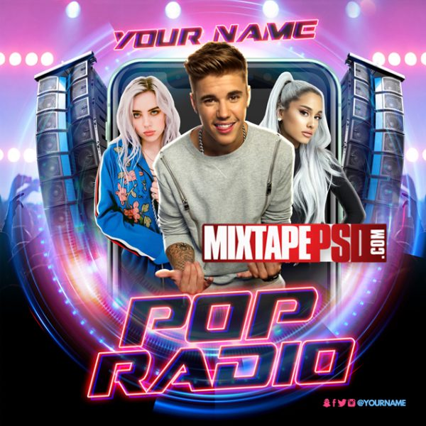 Mixtape Template Pop Radio 2, Album Covers, Graphic Design, Graphic Designer, How to Make a Mixtape Cover, Mixtape, Mixtape cover Maker, Mixtape Cover Templates, Mixtape Covers, Mixtape Designer, Mixtape Designs, Mixtape PSD, Mixtape Templates, Mixtapepsd, Mixtapes, Premade Mixtape Covers, Premade Single Covers, PSD Mixtape,, free mixtape cover psd templates