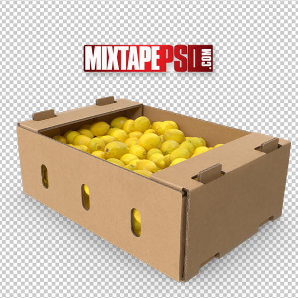 HD Cardboard Box of Lemons, PNG Images, Free PNG Images, Png Images Free, PNG Images with Transparent Background, png transparent images, png images gallery, background png images, png background images, images png, free png images download, royalty free ping images