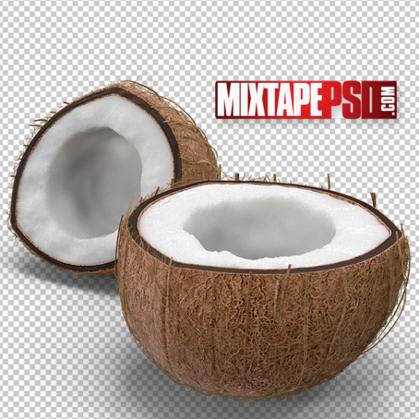 HD Cut Open Coconut, PNG Images, Free PNG Images, Png Images Free, PNG Images with Transparent Background, png transparent images, png images gallery, background png images, png background images, images png, free png images download, royalty free ping images