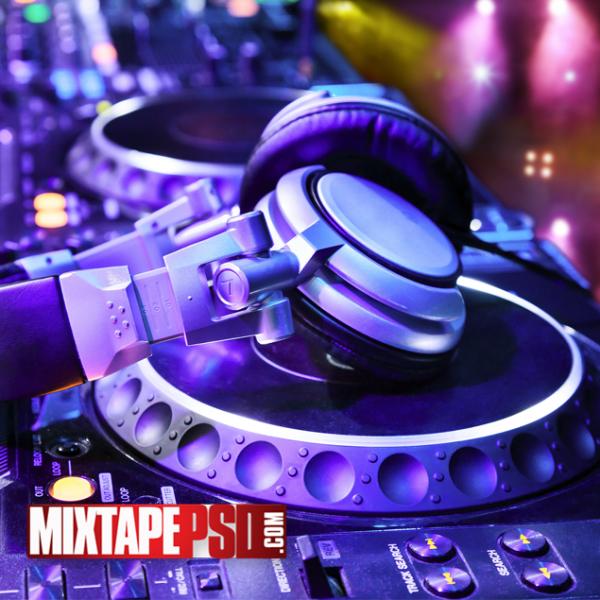 HD Deejay CDJ Mixer Background