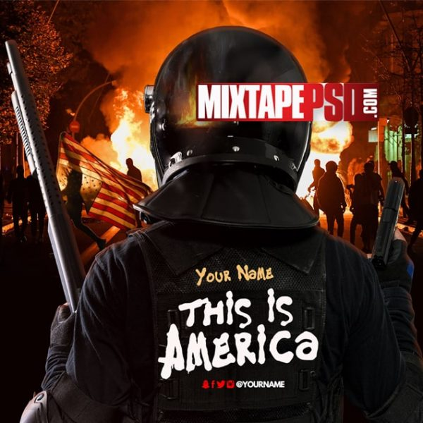 Mixtape Cover Template This is America, Mixtape PSD Free, Album Covers, Graphic Design, Graphic Designer, How to Make a Mixtape Cover, Mixtape, Mixtape cover Maker, Mixtape Cover Templates, Mixtape Covers, Mixtape Designer, Mixtape Designs, Mixtape PSD, Mixtape Templates, Mixtapepsd, Mixtapes, Premade Mixtape Covers, Premade Single Covers, PSD Mixtape,, free mixtape cover psd templates