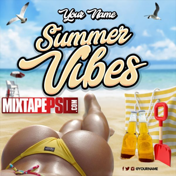 Mixtape Cover Template Summer Vibes 4, Album Covers, Graphic Design, Graphic Designer, How to Make a Mixtape Cover, Mixtape, Mixtape cover Maker, Mixtape Cover Templates, Mixtape Covers, Mixtape Designer, Mixtape Designs, Mixtape PSD, Mixtape Templates, Mixtapepsd, Mixtapes, Premade Mixtape Covers, Premade Single Covers, PSD Mixtape, free mixtape cover psd templates
