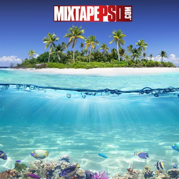 HD Island Underwater Background, Aesthetic Backgrounds, Backgrounds, Colorful Backgrounds, Computer Backgrounds, Cool Backgrounds, Desktop Backgrounds, Flyer Backgrounds, Google Backgrounds, HD Backgrounds, Mixtape Backgrounds