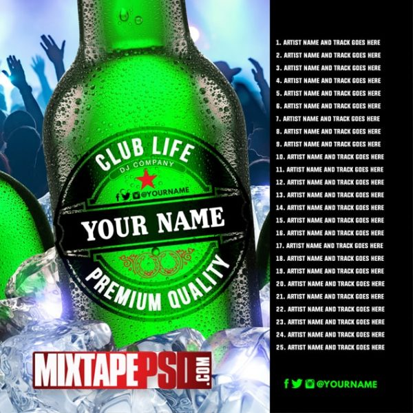 Mixtape Template Club Life 5 w Track Listing, Mixtape PSD Free, Album Covers, Graphic Design, Graphic Designer, How to Make a Mixtape Cover, Mixtape, Mixtape cover Maker, Mixtape Cover Templates, Mixtape Covers, Mixtape Designer, Mixtape Designs, Mixtape PSD, Mixtape Templates, Mixtapepsd, Mixtapes, Premade Mixtape Covers, Premade Single Covers, PSD Mixtape, free mixtape cover psd templates