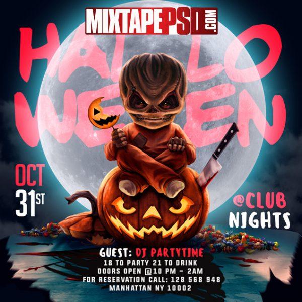 Flyer Template Halloween Party 5, Halloween Flyers, Halloween Templates, Halloween Flyer Templates