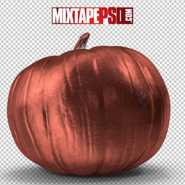 HD Halloween Copper Pumpkin