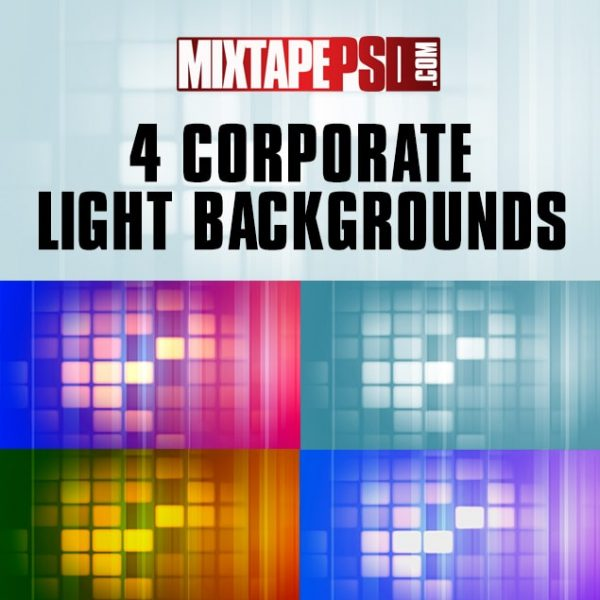 4 Corporate Light Backgrounds