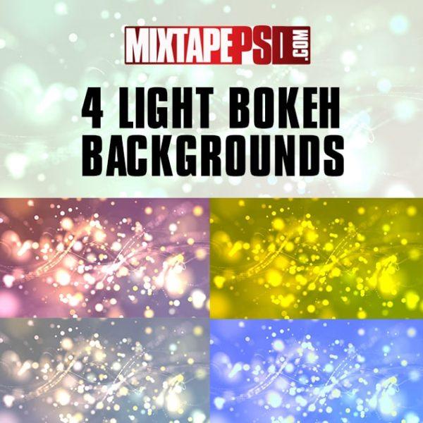 4 Light Bokeh Backgrounds