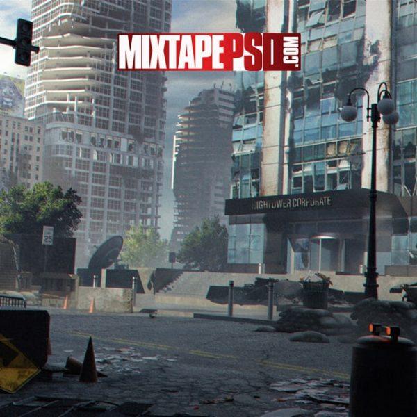 Destructive City Background 5