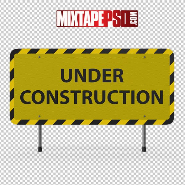 HD Construction Sign