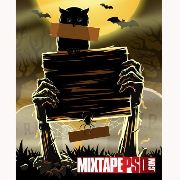 HD Halloween Flyer Background
