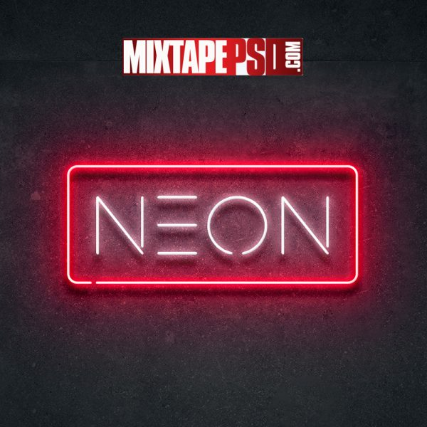 Neon Layer Styles PSD
