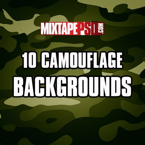 10 Camouflage Backgrounds