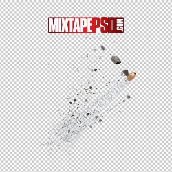 HD Bullet with Debris Matrix Effect 2