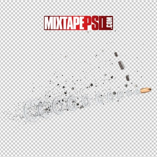 HD Bullet with Debris Matrix Effect