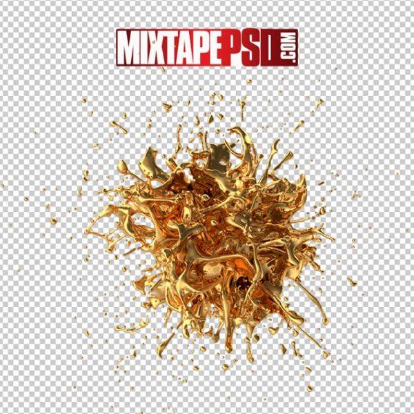 HD Gold Splash