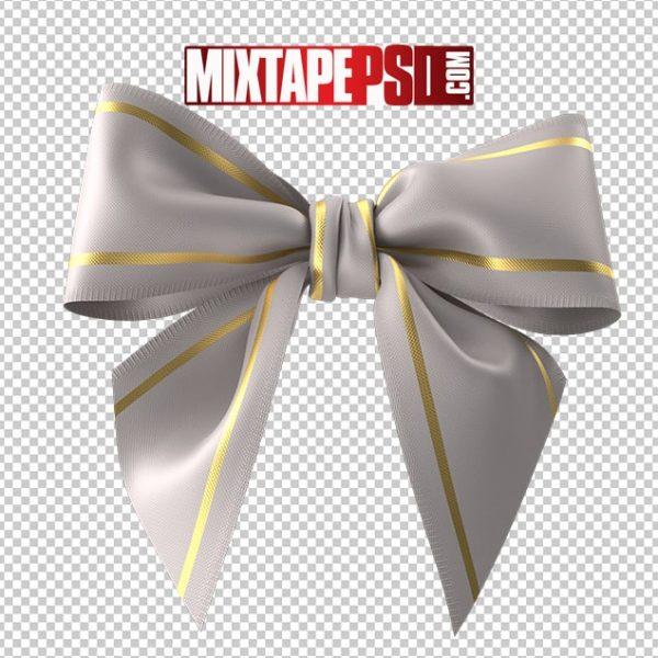 HD White Christmas Bow