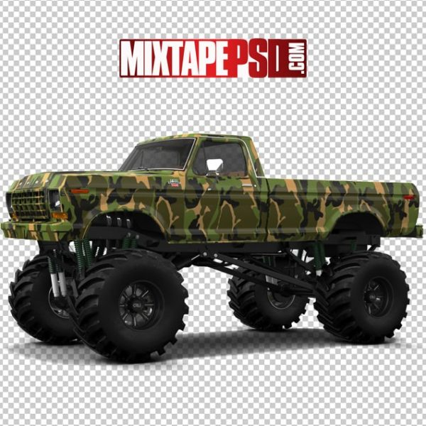 Army Paint Pick UP Truck