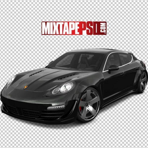 Black Porsche SUV