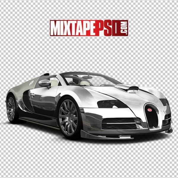 Chrome Bugatti