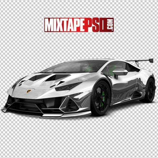 Chrome Lamborghini 2