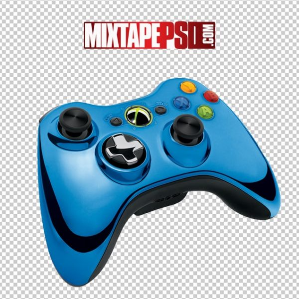 Free Blue Chrome XBOX 360 Controller
