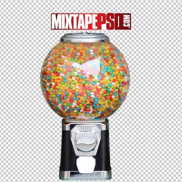 Free Candy Gum Ball Vending Machine