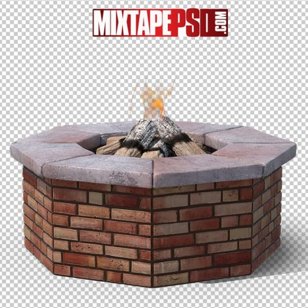 HD Brick Fire Pit