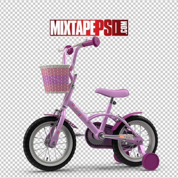 HD Little Girls Bicycle