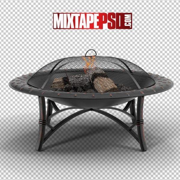 HD Metal Fire Pit