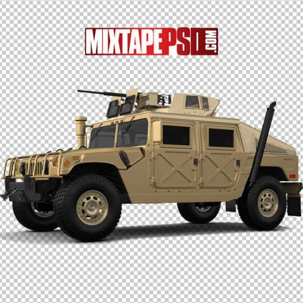 Sand Color Army Hummer