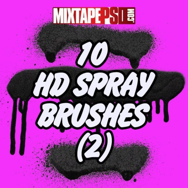10 HD Spray Brushes 2
