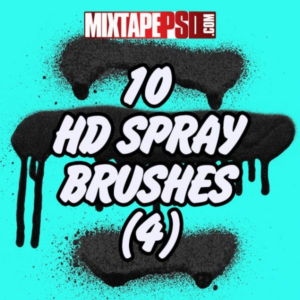 10 HD Spray Brushes (4)