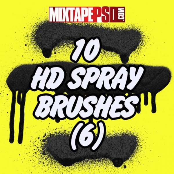 10 HD Spray Brushes (6)