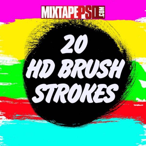 20 HD Brush Strokes