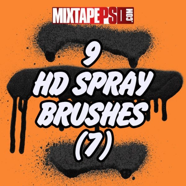 9 HD Spray Brushes (7)
