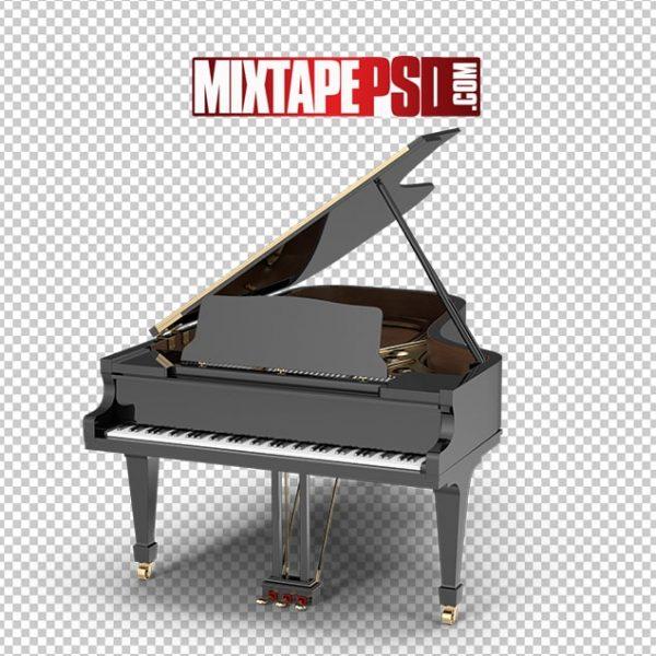 HD Black Grand Piano